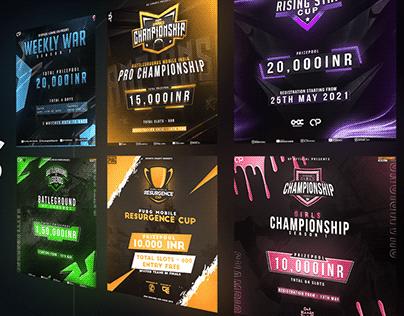 Tournament Posters Vol. 1
