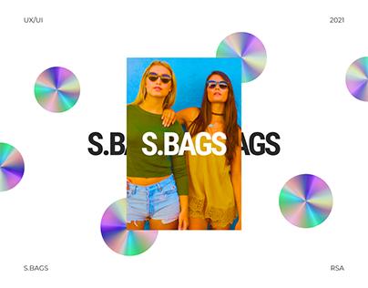 Online store S.Bags - redesign website