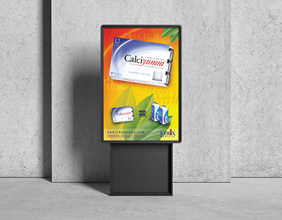 DESIGN GRAPHIQUE Ethix Medical affiche metro