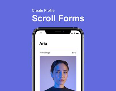 Scroll Forms