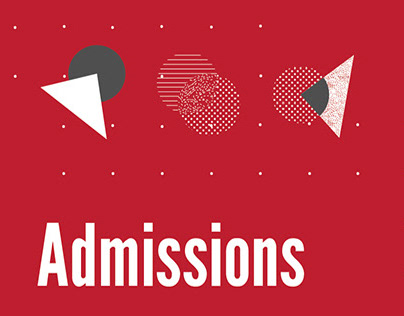 Admission poster for NIFT