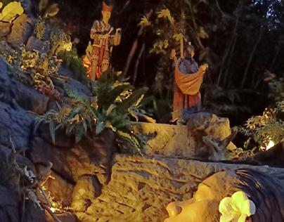 DIWATA AND LUMAD FALLS of SALOME'S GARDEN