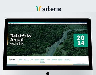 Arteris - Annual Report Website