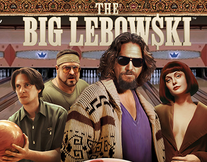 1st Dutch pinball machine movie The Big Lebowski 2014