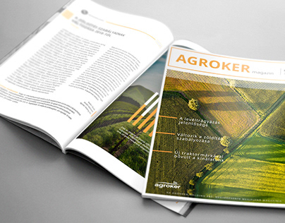 Agrarian magazine - redesign