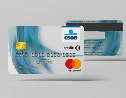 CSOB Credit Mastercard