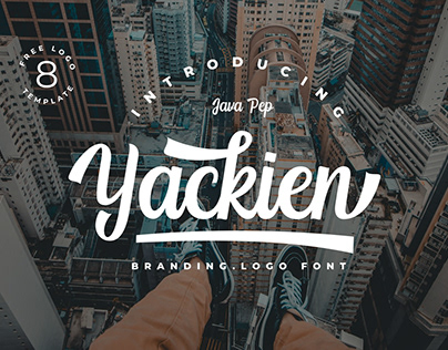 Yackien - Logo Font