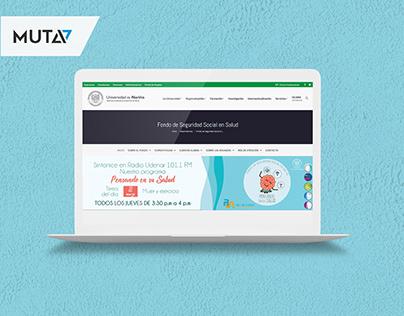Web - Fondo de Seguridad Social en Salud UdeNar