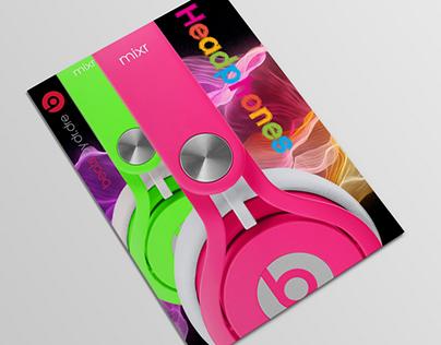 Beats by Dre brochure
