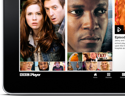 BBC iPlayer - Tablet & Mobile Devices (concept)