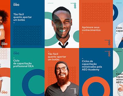 Portal OEA - Visual identity
