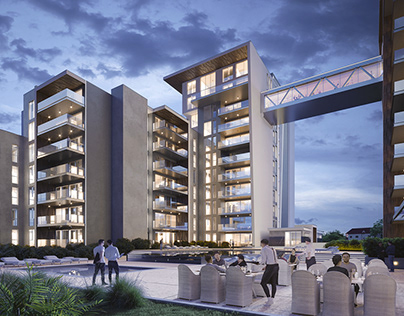 RESIDENTIAL COMPLEX IN REPUBLIC OF CONGO