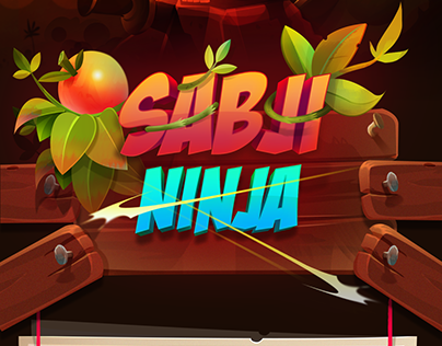 Sabji Ninja 2d Game Art