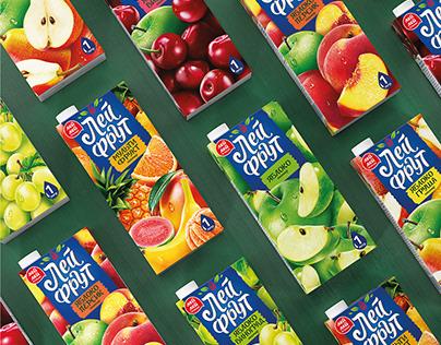 "Juice design of TM ""Lei fruit"" company ""Plodovoe"""