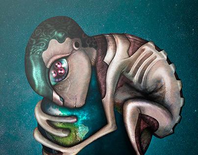 Digital Art | Abrazo Cósmico