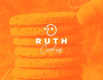 Identidade Visual Ruth Cookies - Projeto Acadêmico