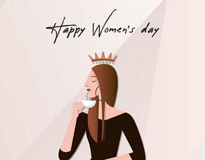 Women's day campaign 活動視覺設計