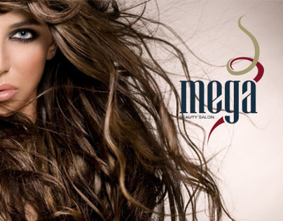 MEGA Beauty Salon - Identity
