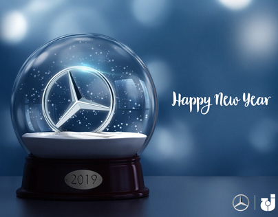 Mercedes - New year