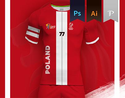 Poland Home kit 2016 - Kabbadi world championship