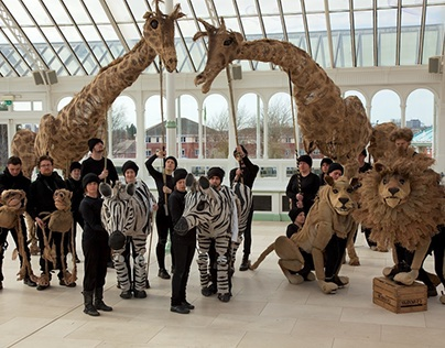 Noah's Ark: The Movie! VIP Puppet's Zoo on Film