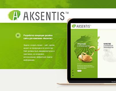 Website Aksentis