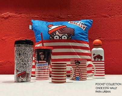 Pocket Collection Onde está Wally para Urban.