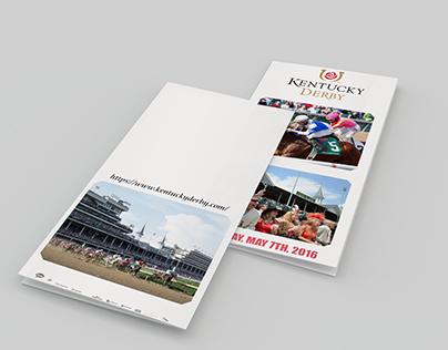 Kentucky Derby Brochure