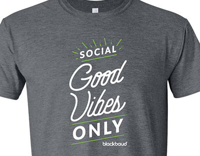 Blackbaud Cares 2019 T-Shirt
