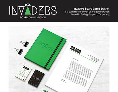 Invaders Branding