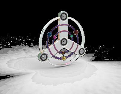 Space Racer Fidget Spinner