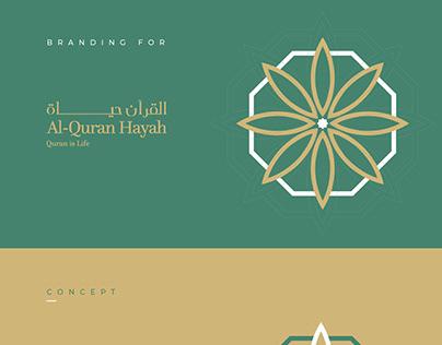 Al-Quran Hayah Branding