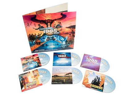 Back In Time: 1985 At The Movies — Deluxe 6CD Set