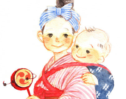Old Japanese Children's play