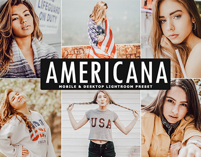 Free Americana Mobile & Desktop Lightroom Preset