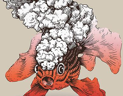 Volcano Series (Cloud) - Illustration