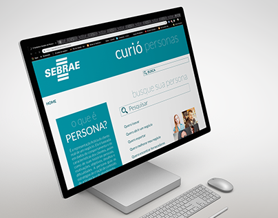 Layout Site Curió - Sebrae