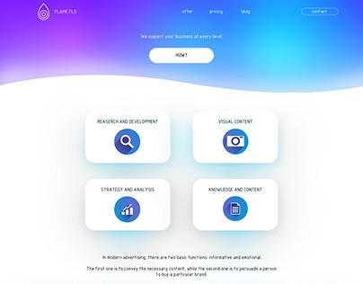 Flame flo website