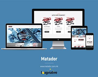 Web Design & Development - Matador.com.mk | Imaginative