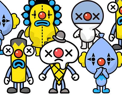 Pierrot Character Design