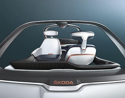 Interior design diploma project Škoda