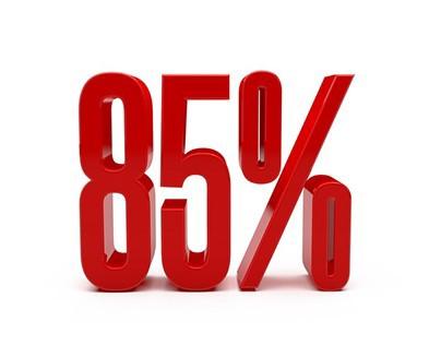 Red Discount 85 Percent