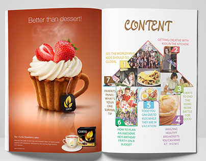 content for family magazine