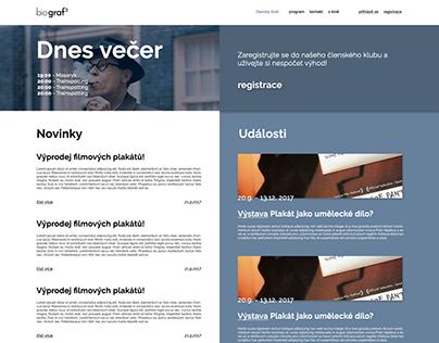 small cinema webdesign
