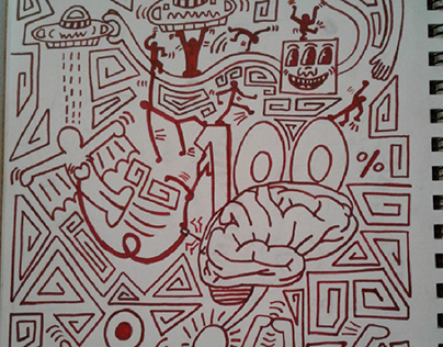 Conviction (Keith Haring Style)