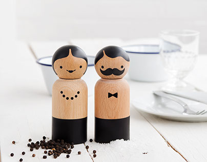 Mr & Mrs Salt & Pepper