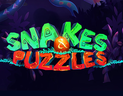 CONCEPT ART FOR SNAKES AND PUZZLES.