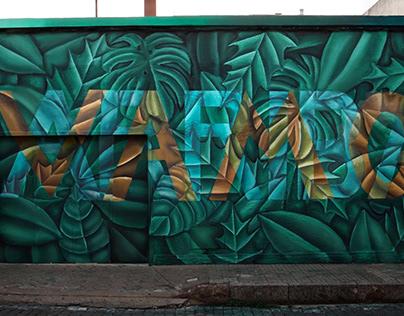 Vamo Arriba, mural en Uruguay