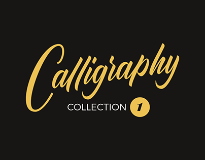 Calligraphy collection #1