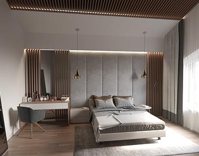 Warm bedroom/2017